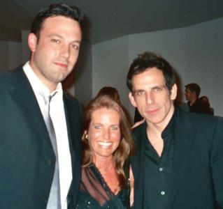 Charlotte Laws, Ben Affleck and Ben Stiller
