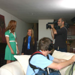 Taping a TV show - Charlotte Laws
