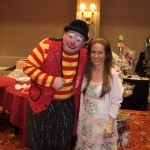 charlotte laws and clown